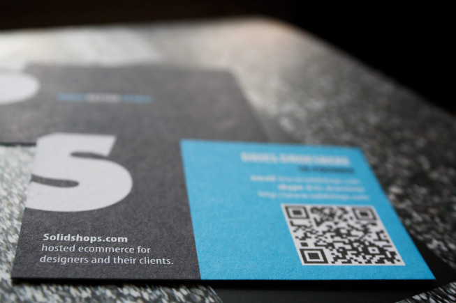 Tips for using qr codes in business cards solidshops make the qr code reheart Gallery