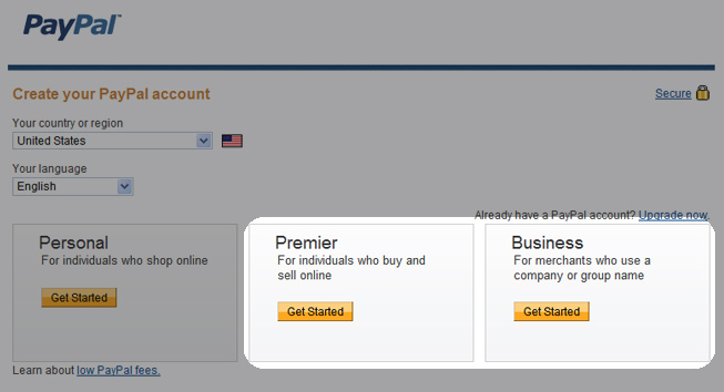 Paypal Online Account